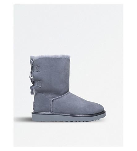 UGG Bailey Bow II sheepskin boots (Pale+blue