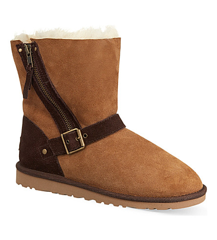 UGG Blaise two-tone boots (Brown