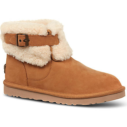 UGG Jocelin suede short boots (Brown