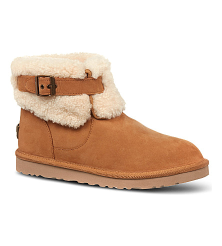 UGG Jocelin Short suede boots (Brown