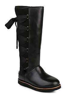 UGG Augustine knee-high leather boots
