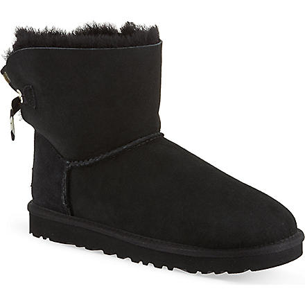 UGG Bailey Bow boots (Black