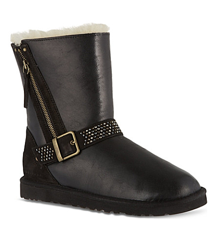 UGG Blaise crystal ankle boots (Black