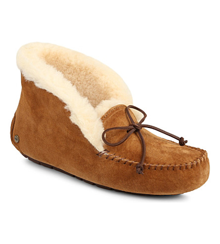OPERA DARTE Alena sheepskin slipper boots (Brown