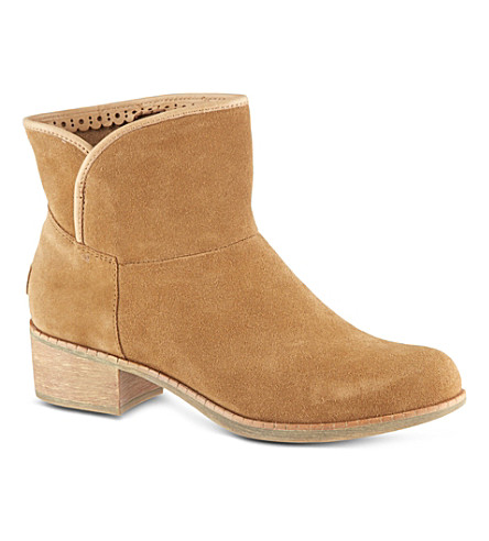 UGG Darling suede ankle boots (Brown