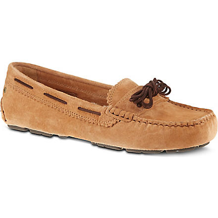 UGG Meena suede slippers (Brown
