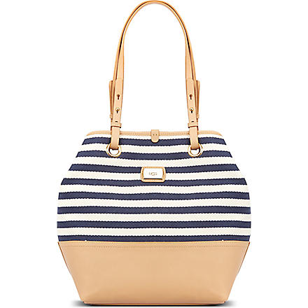 UGG Gracie striped tote (Navy