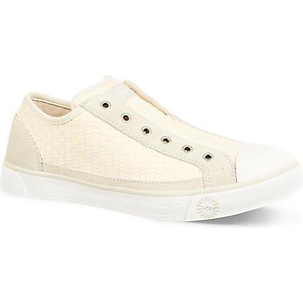 UGG Leala woven trainers (Cream