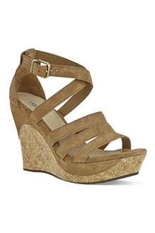 UGG Dillion suede sandals