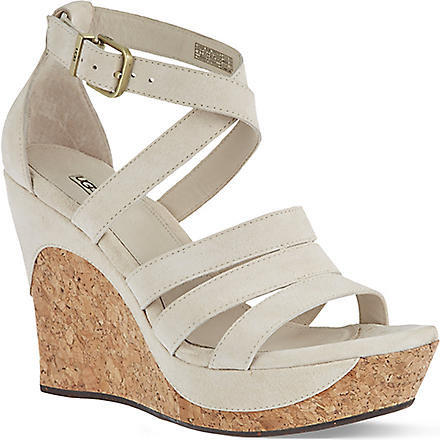 UGG Dillion suede sandals (Cream