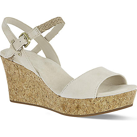 UGG D'alessio suede sandals (Cream