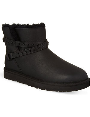 UGG Emersen studded sheepskin ankle boots
