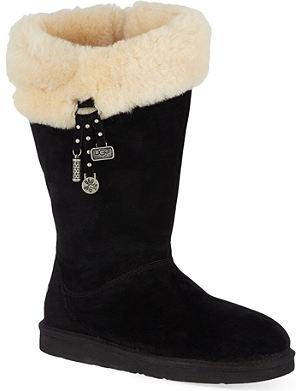 UGG Plumdale Charm sheepskin winter boots