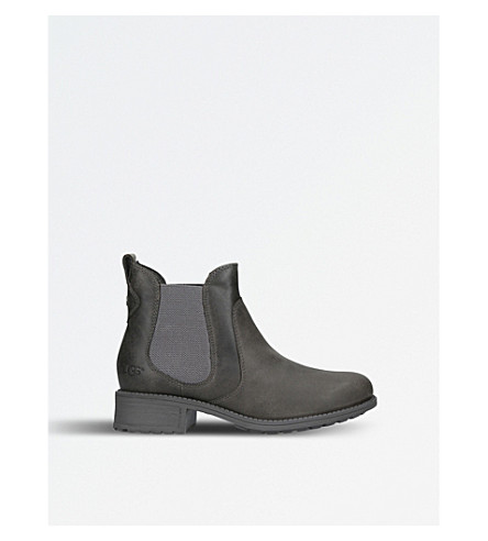 UGG Bonham leather Chelsea boots (Grey/dark