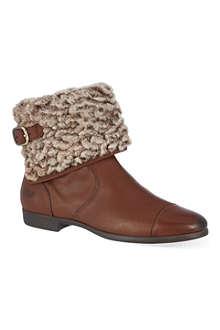 UGG Inez sheepskin ankle boots