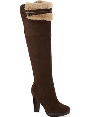 UGG Ophira leather platform boots