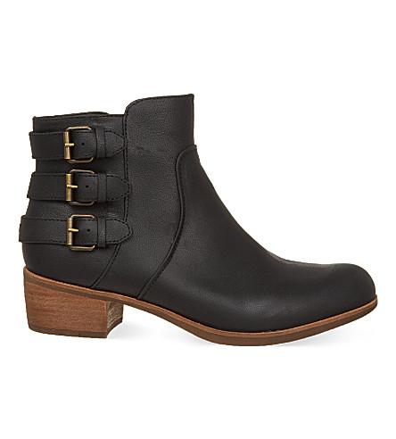 UGG Volta buckle biker boots (Black