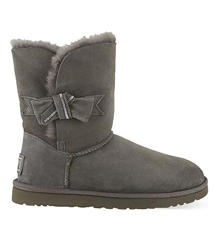UGG Jasmine suede boots (Grey