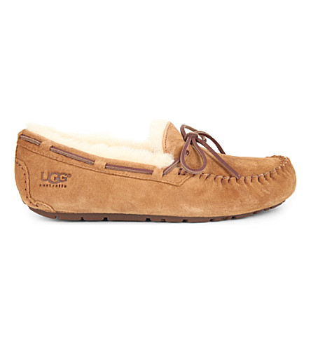 UGG Dakota suede moccasins (Brown