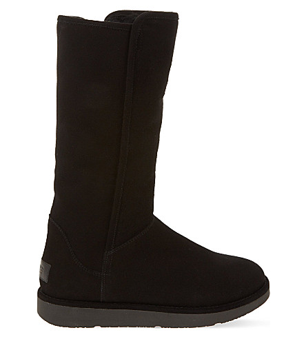 UGG Abree suede boots (Black