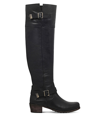 UGG Bess buckled leather boots (Black