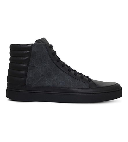 GUCCI Common GG high-top trainers