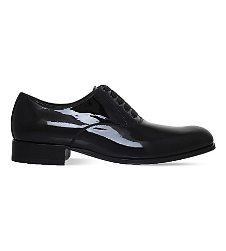 TOM FORD Edgar Evening patent-leather Oxford shoes