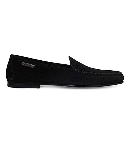 TOM FORD Howard suede outdoor slippers