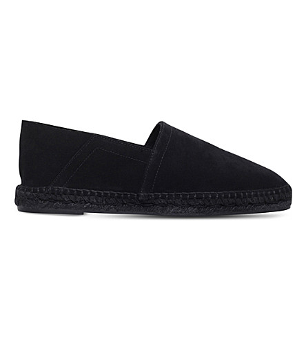TOM FORD Barnes suede espadrille (Black