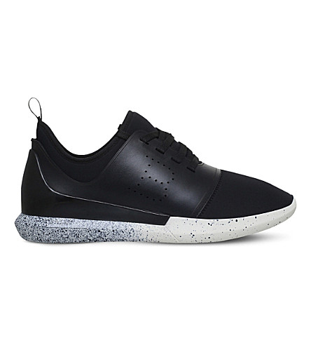 BALLY Avro neoprene trainers (Black