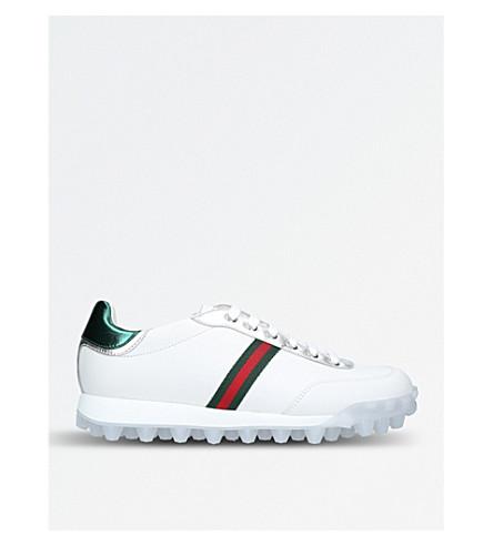 GUCCI Yell ftball sneaker (White/comb