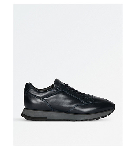VALENTINO Rockrunner camouflage leather trainers (Black