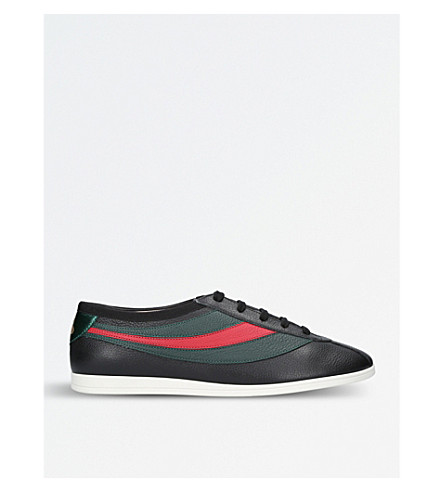GUCCI Falacer leather sneakers (Black