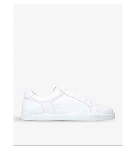 STEMAR Deerskin-leather trainers (White