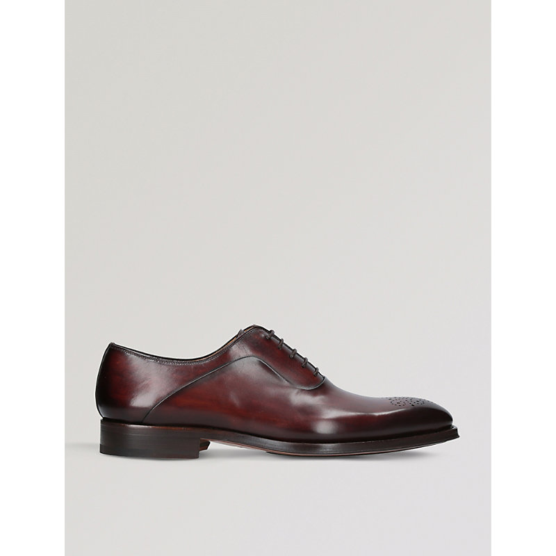 MAGNANNI | Perforated Leather Oxford Brogues | Goxip