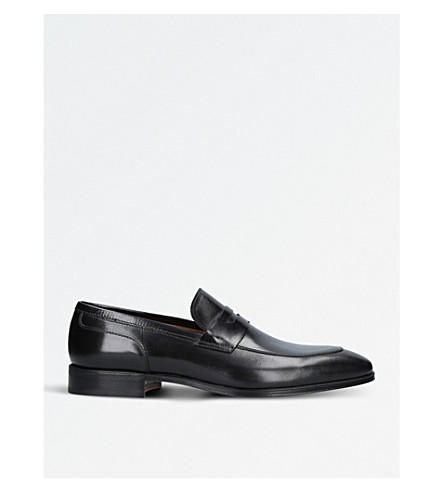 STEMAR Pisa leather loafers (Black