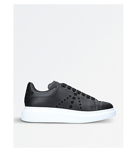 ALEXANDER MCQUEEN Shadow leather trainers (Black