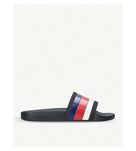 GUCCI Pursuit 72 sliders (Black/comb