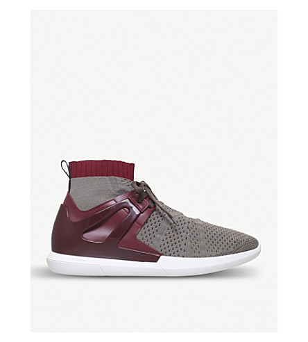 BALLY Avallo caged mesh trainers (Taupe