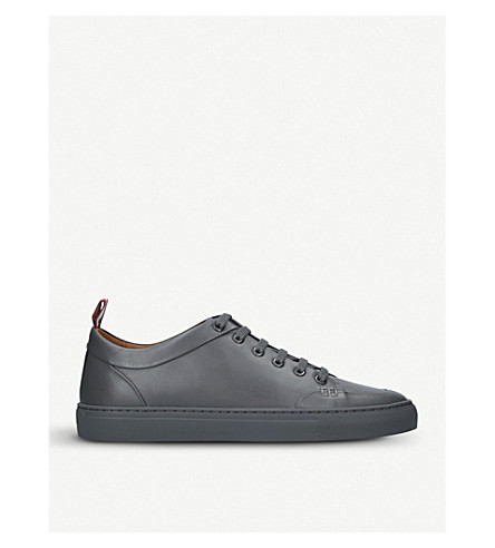 BALLY Helliot low-top leather trainers (Grey