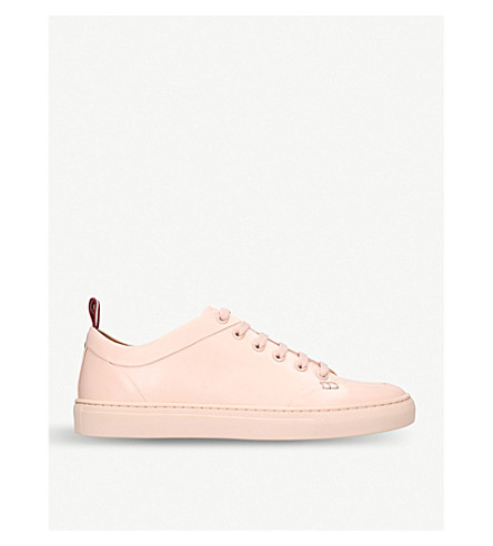 BALLY Helliot low-top leather trainers (Pale+pink