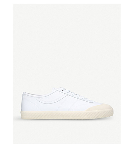 BALLY Smitt leather low-top trainers (White