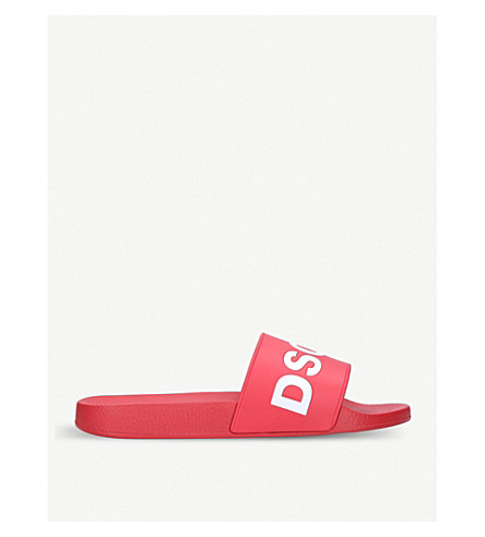 DSQUARED2 Dune Logo sliders (Red/other