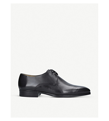 SUTOR MANTELLASSI Marcus leather derby shoes (Black