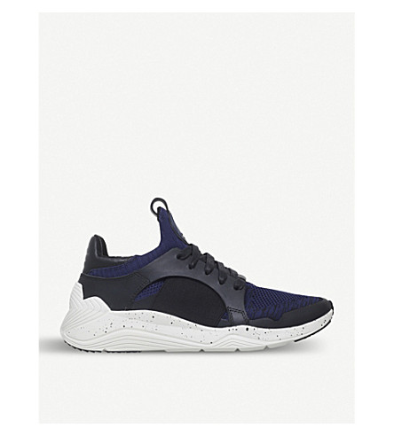 MCQ ALEXANDER MCQUEEN Gishiki knit trainers (Navy