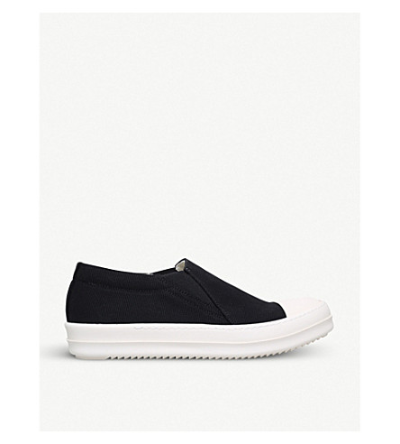 DRKSHDW Boat cotton trainers (Blk/white