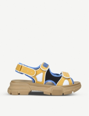 Flashtrek leather and mesh sandals(8067042)
