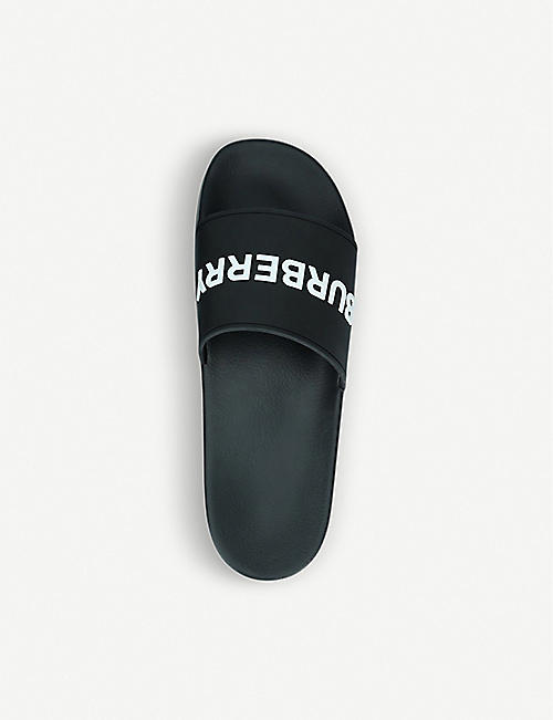 BURBERRY Furley rubber sliders