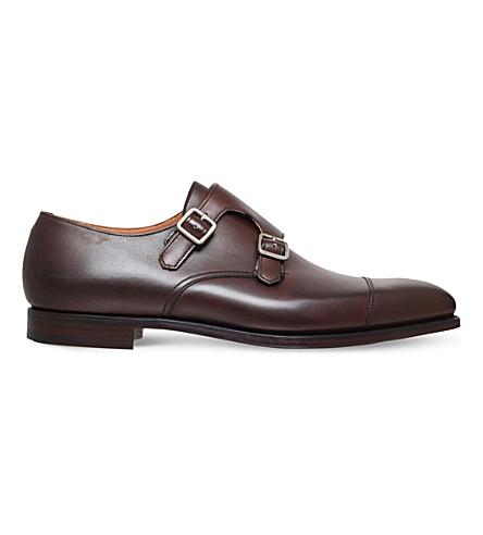 CROCKETT & JONES 朗兹皮革和尚鞋履 (布朗
