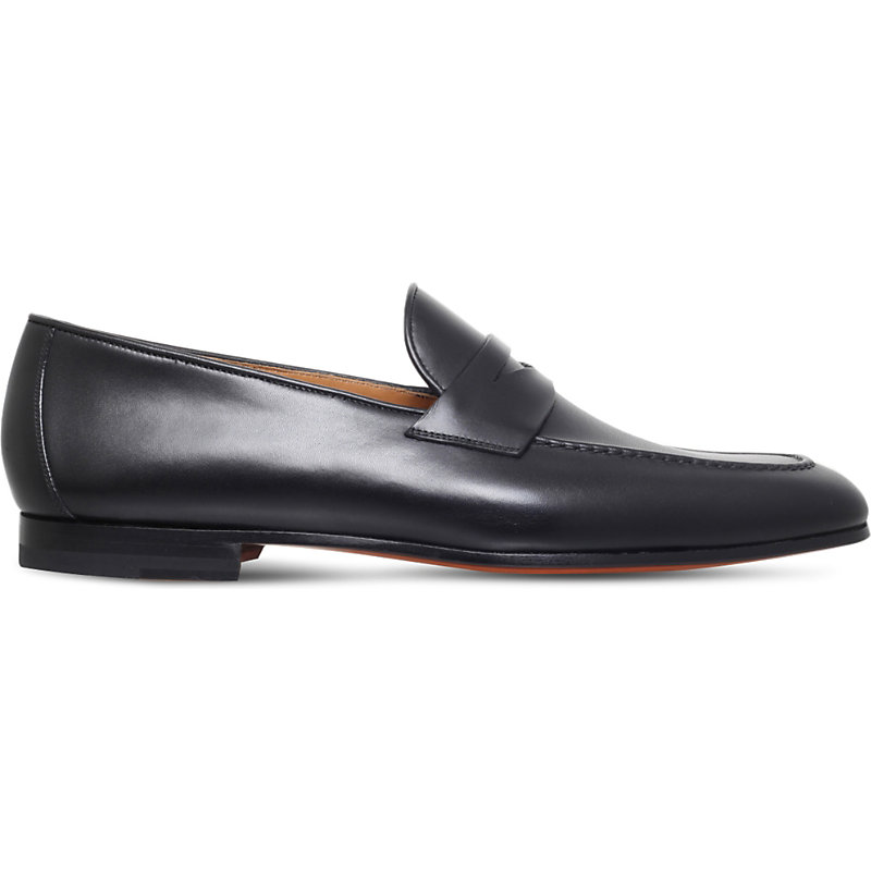 MAGNANNI | Roberto Leather Loafers | Goxip
